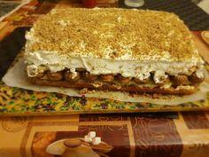 Hungarian Recipes, Hungarian Food, Tiramisu, Sandwiches, Dessert Recipes, Cake, Ethnic Recipes, Dios, Candy