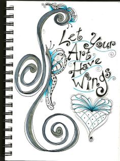 Let Your Art Have Wings by Paint Chip, via Flickr