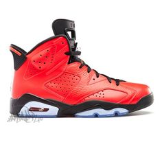 reputable site c3ee7 4fad5 Jordan 6 History Of Jordan Red Leather Exclusive Rare Size. marcos Rivera ·  FIRE KICKS Jordans RETRO · Air Jordan Retro 10 Men s Basketball Shoes ...