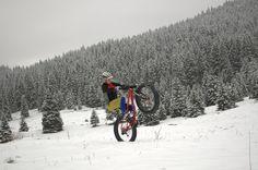#fatbike sull' #alpecimbra!! Per gli amanti delle due ruote tantissimi percorsi anche sulla #neve. #Folgaria #Lavarone #trentinodavivere