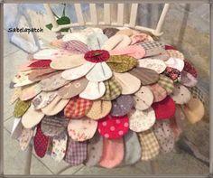 Sabelapatch: Mis casi 100 posts: 100 pétalos de color