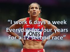 Lolo Jones is a great example of determination. Track Quotes, Running Quotes, Running Motivation, Fitness Motivation, Daily Motivation, Fitness Quotes, Running Inspiration, Fitness Inspiration, Style Inspiration