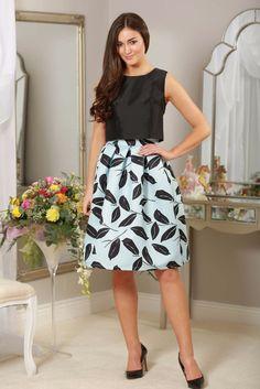 baby blue ss16 skirt,