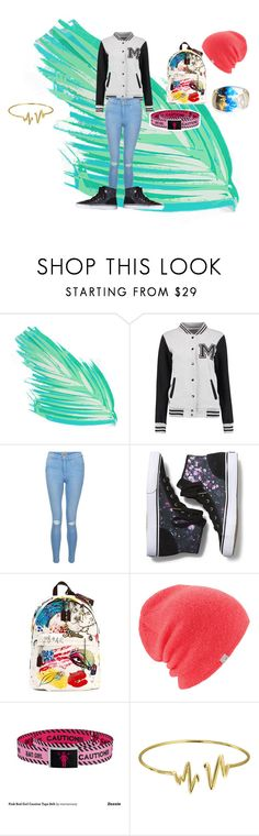 """Untitled #135"" by animegeek2002 ❤ liked on Polyvore featuring New Look, Keds, Marc Jacobs, Coal, Bling Jewelry and Alexis Bittar"