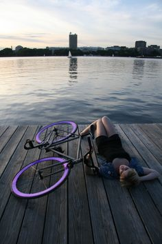 recovering from that really really long fixie ride ☺