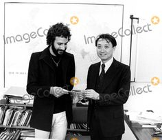 Cat Stevens, Yusuf Islam Photo - Cat Stevens (Yusuf Islam) Presents Mr. Jack Ling, Director of Unicef Public Information in New York with a Check For $100,000.00 Supplied by Globe Photos, Inc.
