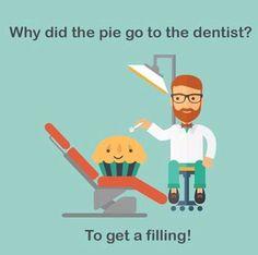 Dental Humor to make you smile! - Jokes - Funny memes - - Dental Humor to make you smile! The post Dental Humor to make you smile! Cute Jokes, Mom Jokes, Silly Jokes, Funny Puns, Hilarious, Stupid Jokes, Funny Stuff, Dental Jokes, Dentist Humor