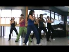 I choreographed this a couple months ago for my high school groups and now use it in my Zumba classes! It's just alot of fun and makes me laugh!  Rock it out!