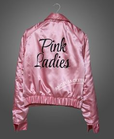 How to find the best pink jackets How to find the best pink jackets pink jacket … michelle pfeiffer grease 2 pink ladies satin jacket QOKFASN Grease Outfits, Grease Costumes, Grease Party Costume, Pink Lady Costume, Rockabilly, Moda Pinup, Grease Pink Ladies Jacket, Grease Pink Ladies Costume, Costumes For Women