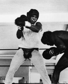 Gordon Parks, Muhammad Ali Boxing, Miami, Florida, 1966