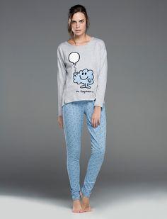 Womensecret. Pyjamas Long Mr.Daydream pyjama