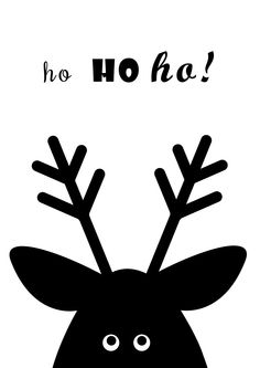 Plakat z reniferem ho ho ho Kids Graphics, Stranger Things, Kids And Parenting, Magick, Freaky Things Christmas Wreaths To Make, Christmas Hacks, Large Christmas Baubles, Christmas Star Decorations, Christmas Cards To Make, Christmas Love, Tree Wallpaper Cute, Christmas Wallpaper, Kids Graphics