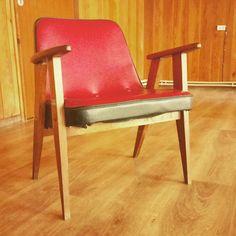 Fotel proj. Chierowski. Lata 60te XX wieku. #chierowski #prl #fotel #armchair #vintage #retro #midcenturymodern