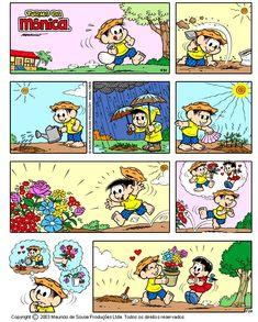 Depósito de Tirinhas — por Mauricio de Sousa http://www.monica.com.br/