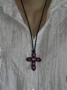 Kreuzanhänger - Kreuz *GOTHIC* - ein Designerstück von lilly10 bei DaWanda