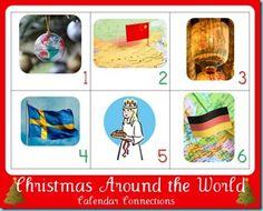 12 Days of Christmas ~ Christmas Around the World Calendar Connections