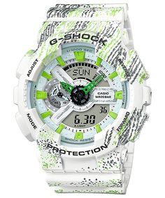 4dd18bd25ba Casio G-Shock Sport Shock Resistant World Time Analog Digital Men s Watch