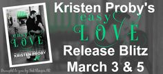 Twin Sisters Rockin' Book Reviews: Release Blitz: Easy Love by Kristen Proby @InkSlin...