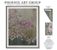 Phoenix Art Group introduces new art: Fiori Rosa    MORE about…