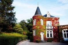 Le Château de Bagnolet, located in Cognac, France, was bought by August Hennessy in 1841