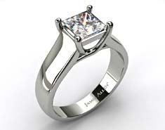 A gemstone solitaire may be the essential diamond engagement ring. Although other diamond engagement ring settings fall and rise in recognition, a solitaire ring is really a classic with constant, … Wedding Rings Solitaire, Solitaire Engagement, Wedding Bands, Wedding Stuff, Dream Wedding, Custom Jewelry Design, Rings Online, Unique Rings, Beautiful Rings