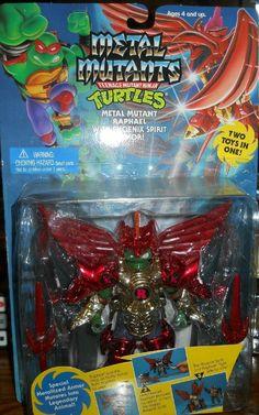 Metal Mutant Raphael with Phoenix Spirit Armor