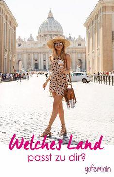 Hey Travelgirl! In welches Land passt du eigentlich am besten?