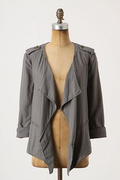 Draped Surplus Jacket by Daughters of the Liberation