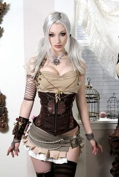 steampunk look