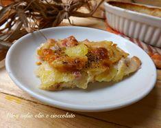 il tortino di patate cacio pepe e salsiccia e' un secondo piatto molto gustoso e ricco di sapore ed è semplicissimo da fare