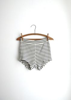 hot pants in stripes