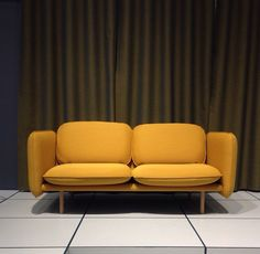 Linde sofa by Andreas Engesvik Sofa, Couch, Furniture, Home Decor, Settee, Settee, Decoration Home, Room Decor, Home Furnishings