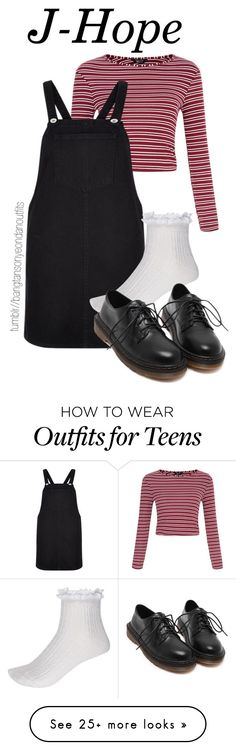 """""""JHOPE BIRTHDAY 4"""" by bangtanoutfits on Polyvore featuring River Island, women's clothing, women, female, woman, misses, juniors, kpop, bts and BangtanBoys"""