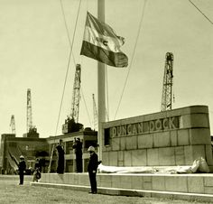 Duncan Dock 1944. | by Etiennedup Vintage Photographs, Vintage Photos, African History, Africa Travel, Cape Town, South Africa, Ship, Table, Old Photos
