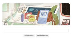 Google celebrated Douglas Adams' 61st birthday :) Repin and Tell your friends!