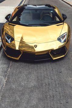 Gold plated Lambo