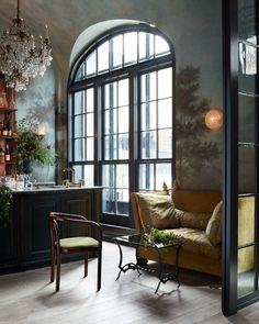 Inside the Roman & Williams–Designed Le Coucou Restaurant   Architectural Digest