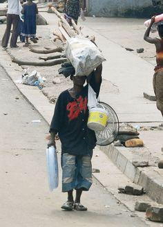 Street scene, Monrovia, Liberia