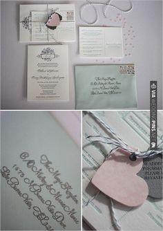 wedding invitations   VIA #WEDDINGPINS.NET
