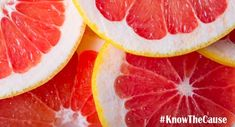 While people on certain medicines should not eat grapefruit, there are plenty of reasons you should enjoy grapefruit regularly on Kaufmann 1 of the Kaufmann Diet. Learn more in this article from Know the Cause! Health Benefits Of Grapefruit, How To Eat Grapefruit, Garlic Health Benefits, Pink Grapefruit, Healthy Vegetables, Healthy Fruits, Best Fruits To Eat, Braggs Apple Cider Vinegar, Healthy Eating