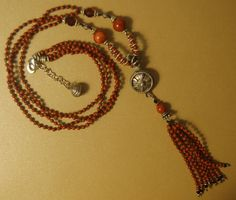 A personal favorite from my Etsy shop https://www.etsy.com/listing/543665245/hand-knotted-semi-precious-red-jasper