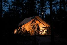Luxury Camping Montana - River Camp at The Resort at Paws Up