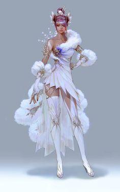 images for anime girl fantasy Chica Fantasy, 3d Fantasy, Fantasy Women, Fantasy Girl, Fantasy Artwork, Final Fantasy, Fantasy Character Design, Character Design Inspiration, Character Concept