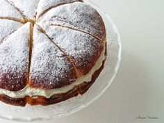 Delicious Cake Recipes, Yummy Cakes, Sweet Recipes, Cake Fillings, Easy Baking Recipes, Food Test, Frosting Recipes, Sweet And Salty, No Bake Cake