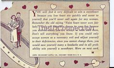 1939 Sweetheart Postcard Digital Download Faint by TheIDconnection, $10.00