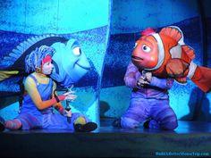 """Finding Nemo - The Musical"" at Disney's Animal Kingdom.  Disney World."