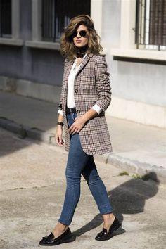 999ac9e15fa01 23 mejores imágenes de Outfit with blazer en 2019
