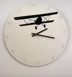 Airplane Wall Clock. $38.00, via Etsy.
