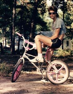 I see your 1987 Depeche Mode shirt and SIX watches, and raise you me in 1985 on a radical Haro Sport with pink Skyway mags, tubular half-shirt, bitchin gym shorts, and cool helmet hair. - Imgur