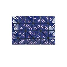 Bao Bao Issey Miyake Lucent numbers clutch (495 AUD) ❤ liked on Polyvore featuring bags, handbags, clutches, navy, blue handbags, metallic purse, bao bao by issey miyake, navy handbag and blue purse
